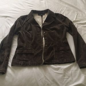 Chocolate Brown corduroy jacket from INC.  Size M